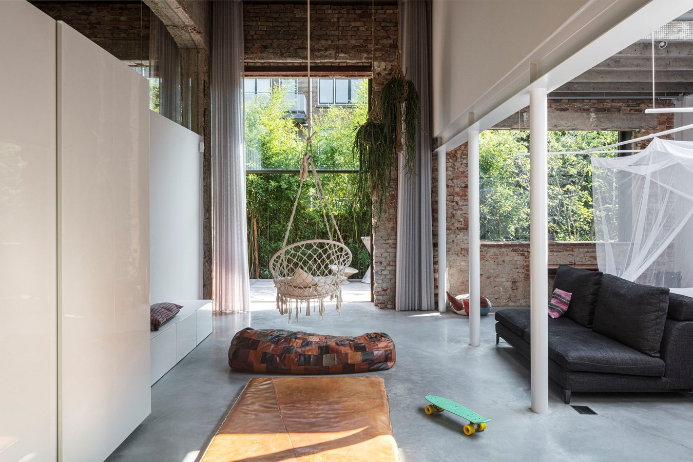 Abandoned 1940s Sports Building converted into New Villa With Naked Brick Walls by MASA Architects - Sheet8