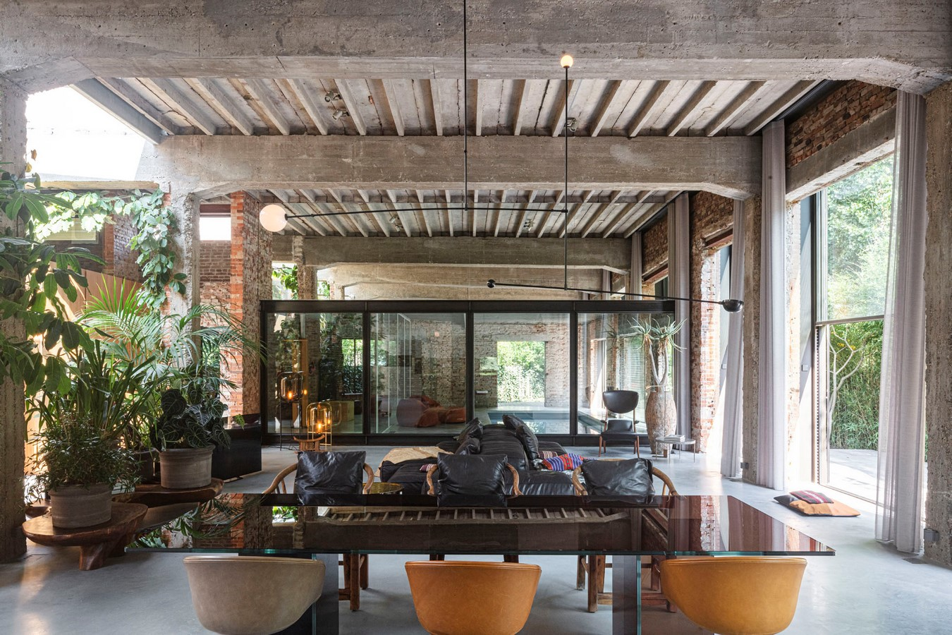 Abandoned 1940s Sports Building converted into New Villa With Naked Brick Walls by MASA Architects - Sheet9