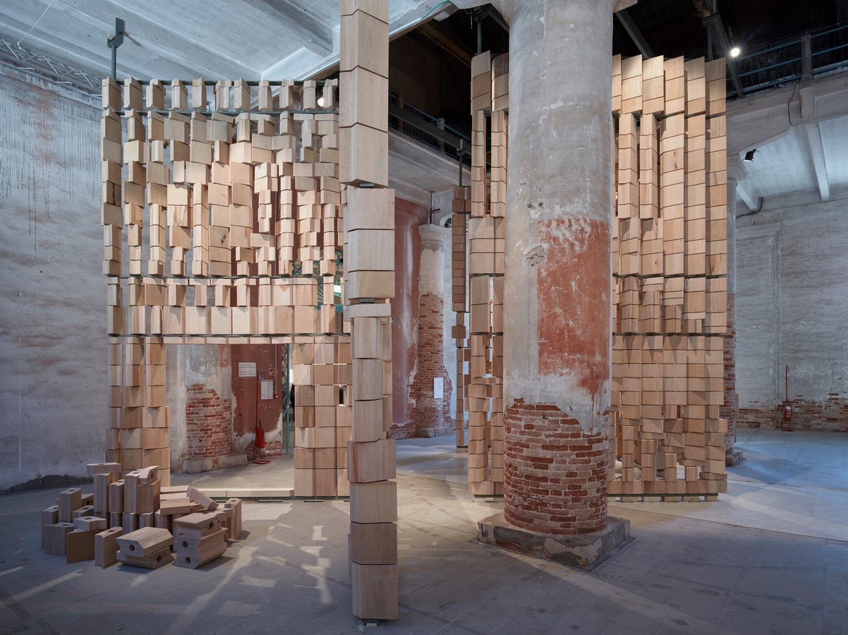Dialogue Between Architecture and the Environment celebrated by Leonmarcial Installation at the Venice Biennale 2021 - Sheet1