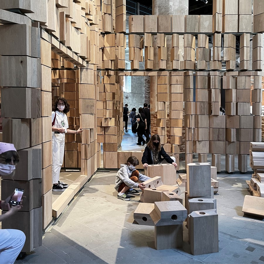 Dialogue Between Architecture and the Environment celebrated by Leonmarcial Installation at the Venice Biennale 2021 - Sheet5