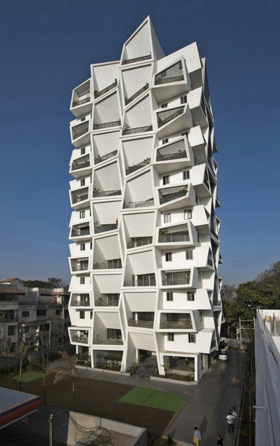 Ishatvam 9 by Sanjay Puri Architects: The extended decks - Sheet1