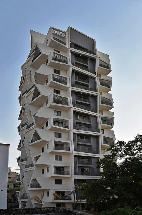 Ishatvam 9 by Sanjay Puri Architects: The extended decks - Sheet2