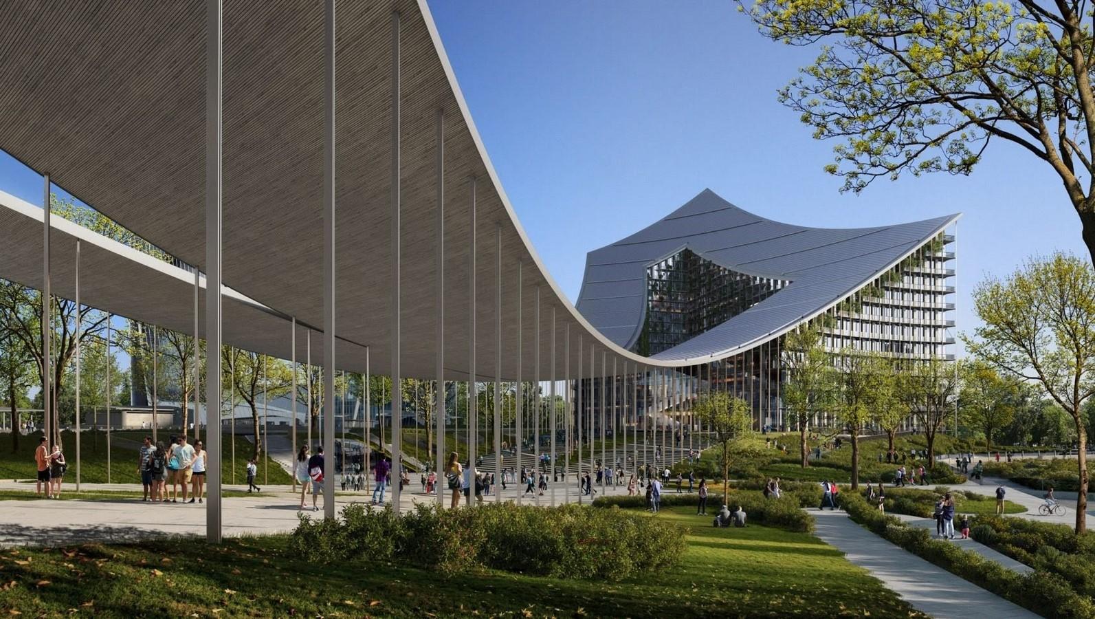Construction Begins on BIG's CityWave Urban Regeneration Project in Milan - Sheet4