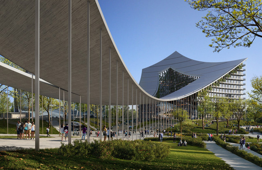Construction Begins on BIG's CityWave Urban Regeneration Project in Milan