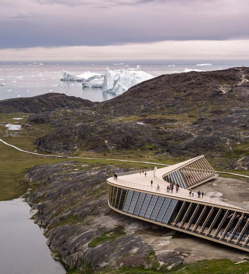 Dorte Mandrup completes climate research centre in Greenland - Sheet1