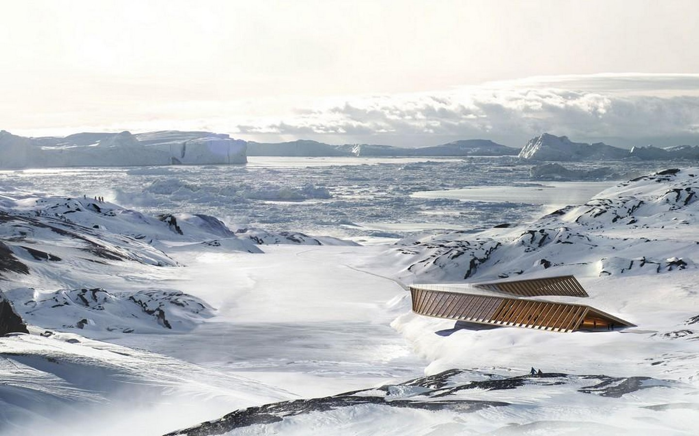 Dorte Mandrup completes climate research centre in Greenland - Sheet4