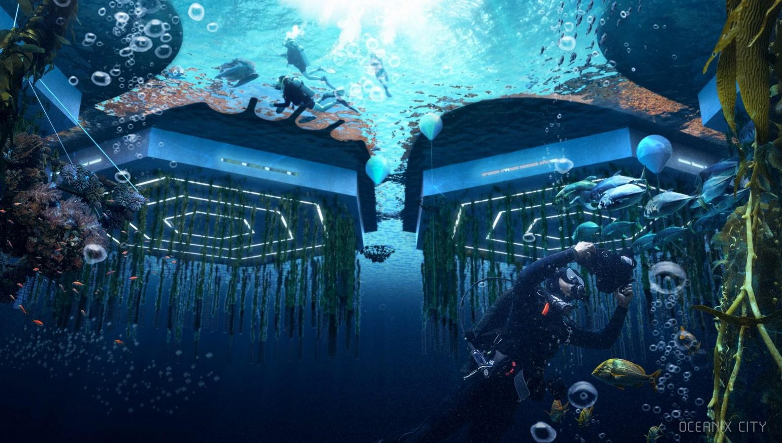 Oceanix City by Bjarke Ingles: The Floating City - Sheet3