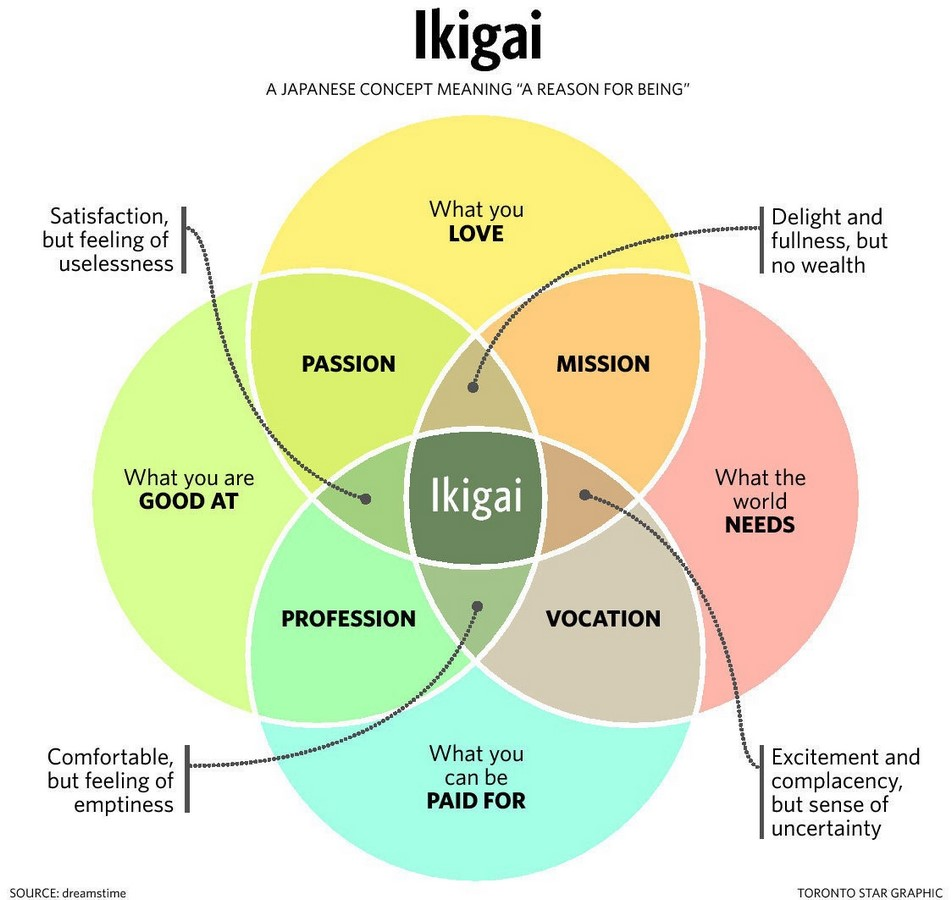 How can we use the concept of IKIGAI in Interior Design - Sheet2