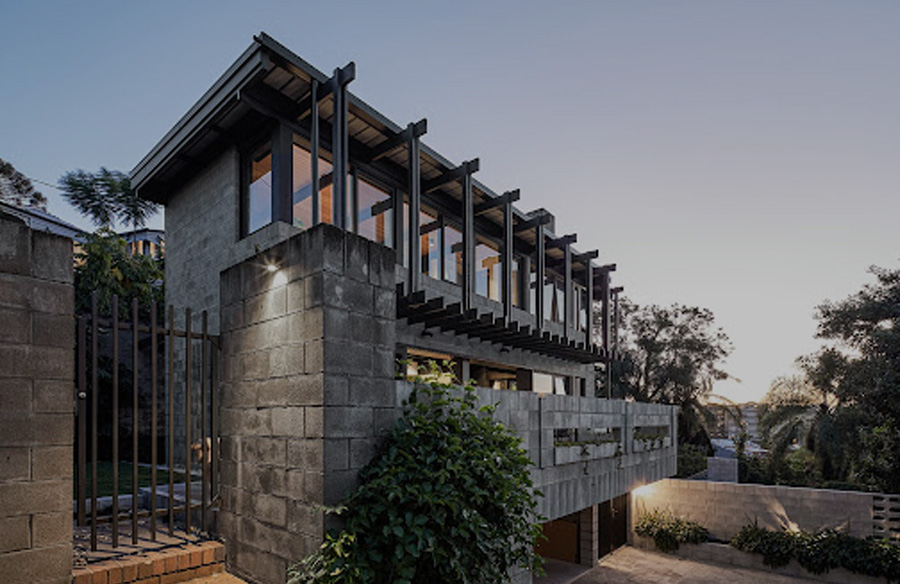 Chambers House by Shaun Lockyer Architects: Raw, Crafted, Modernist building