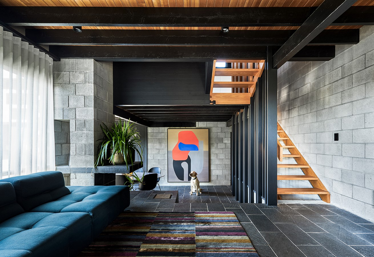 Chambers House by Shaun Lockyer Architects: Raw, Crafted, Modernist building - Sheet1