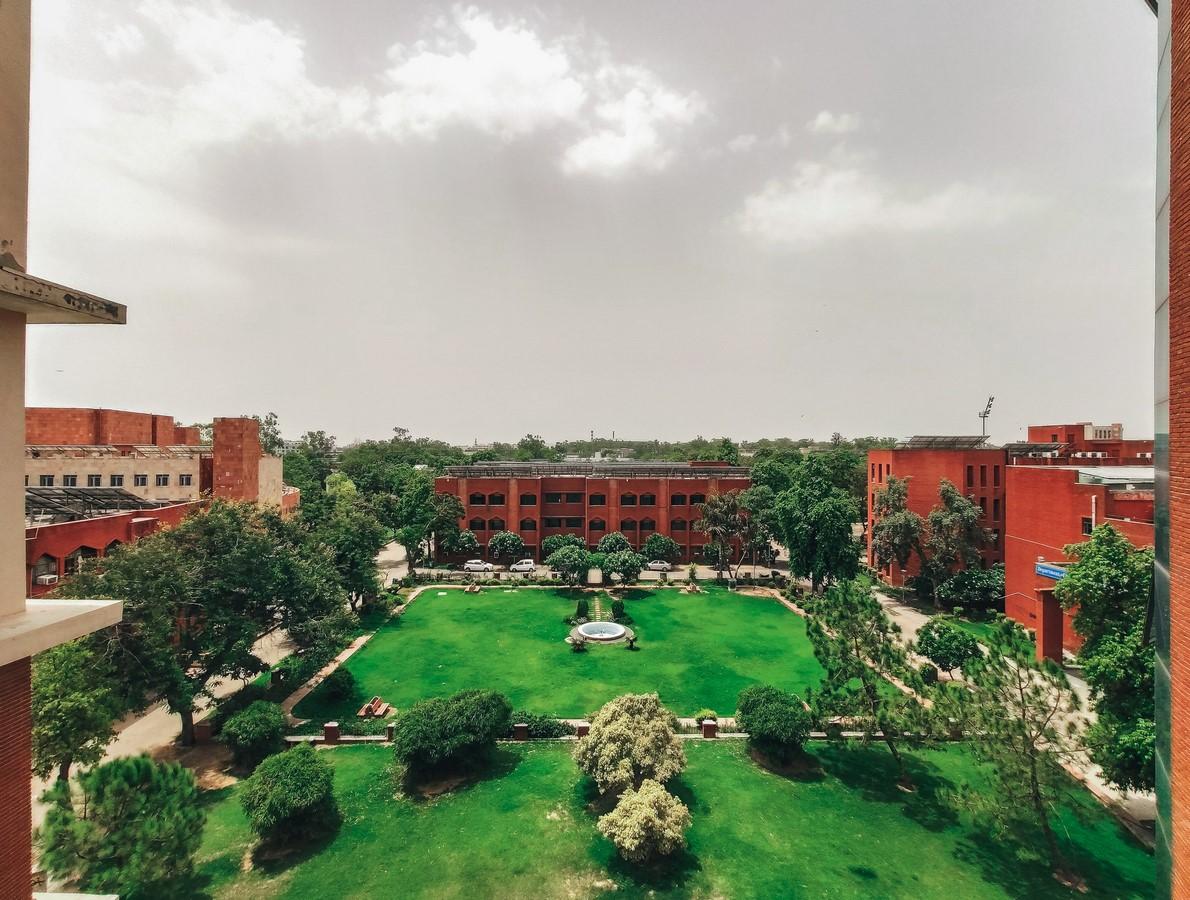 Campus Life at Jamia Millia Islamia- Faculty of Architecture & Ekistics - Sheet10