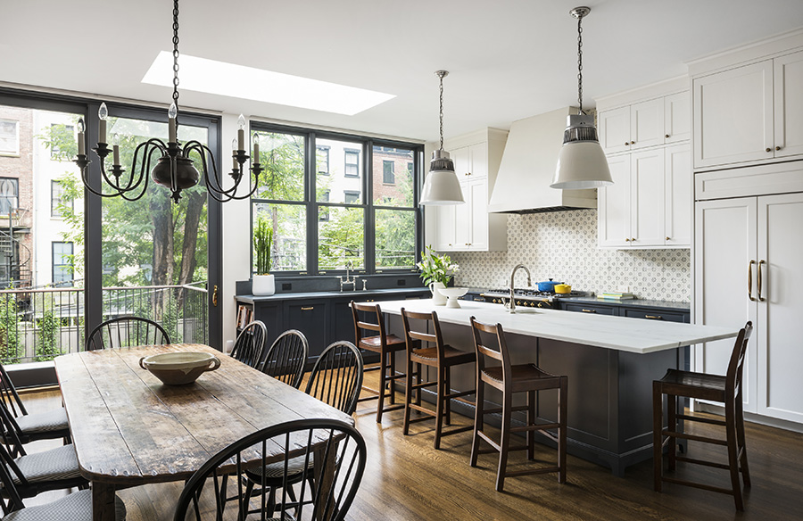 Historic Details Meet Contemporary Brooklyn Lifestyle by Baxt Ingui Architects, P.C
