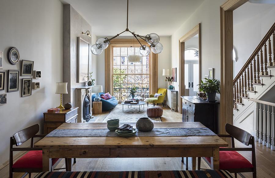 A Third Life For a Second Empire House by Indigo and Ochre Design