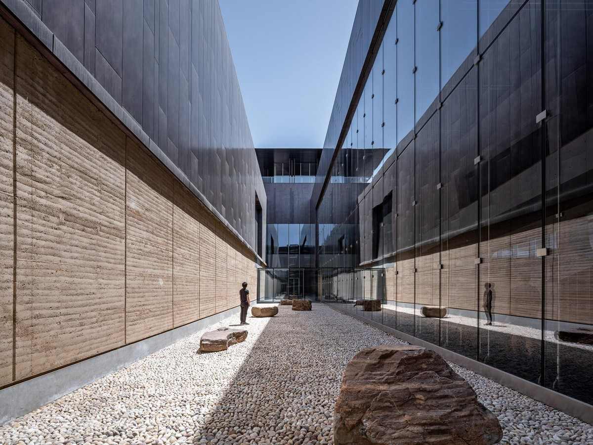 Erlitou Site Museum of the Xia Capital by TJAD and Rurban Studio: Preserving the existing - Sheet11