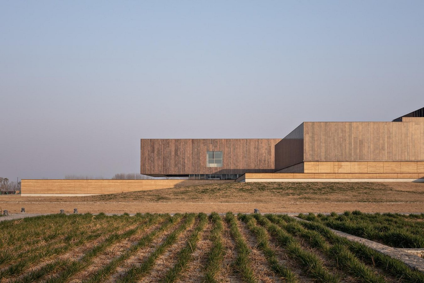 Erlitou Site Museum of the Xia Capital by TJAD and Rurban Studio: Preserving the existing - Sheet14