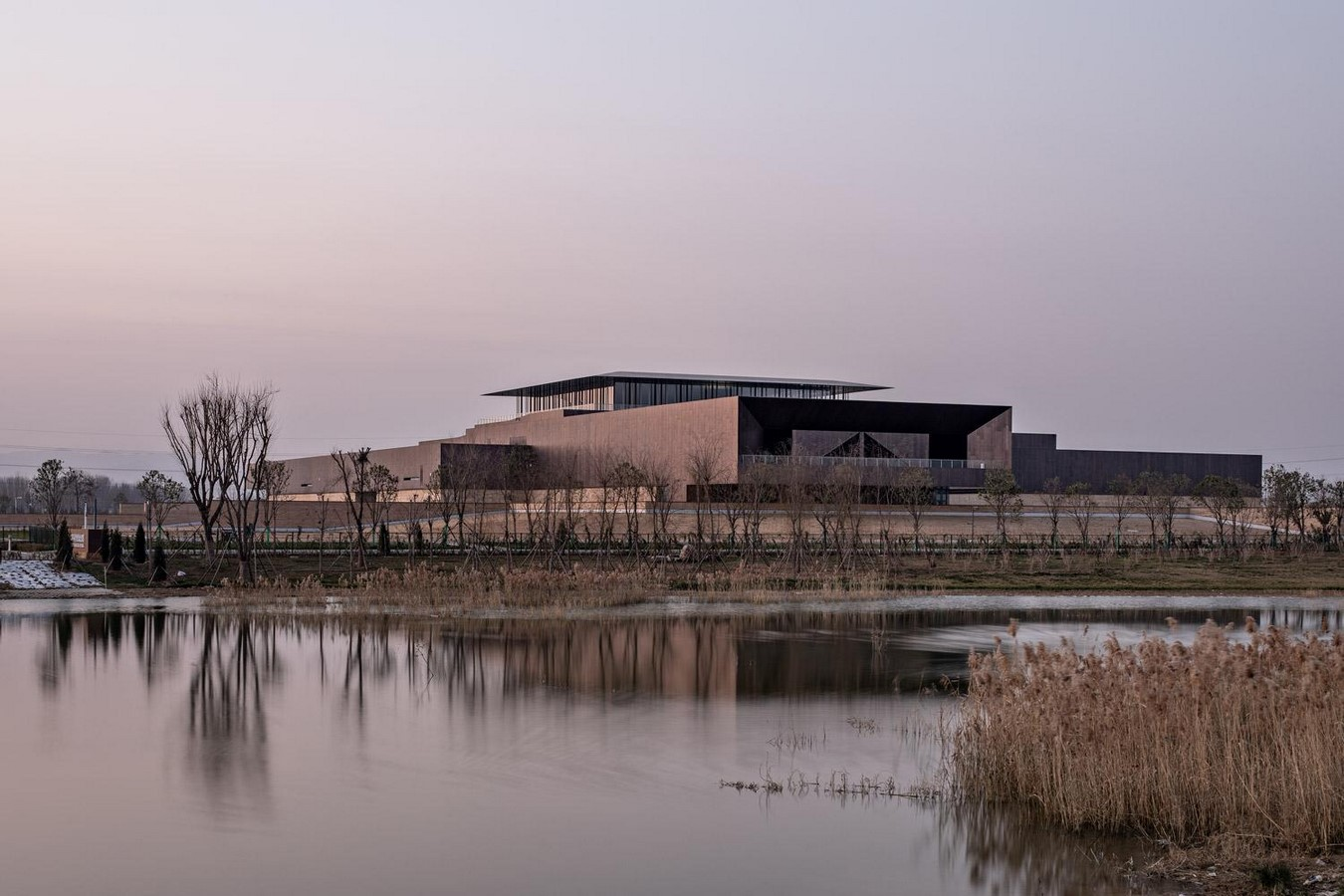 Erlitou Site Museum of the Xia Capital by TJAD and Rurban Studio: Preserving the existing - Sheet15
