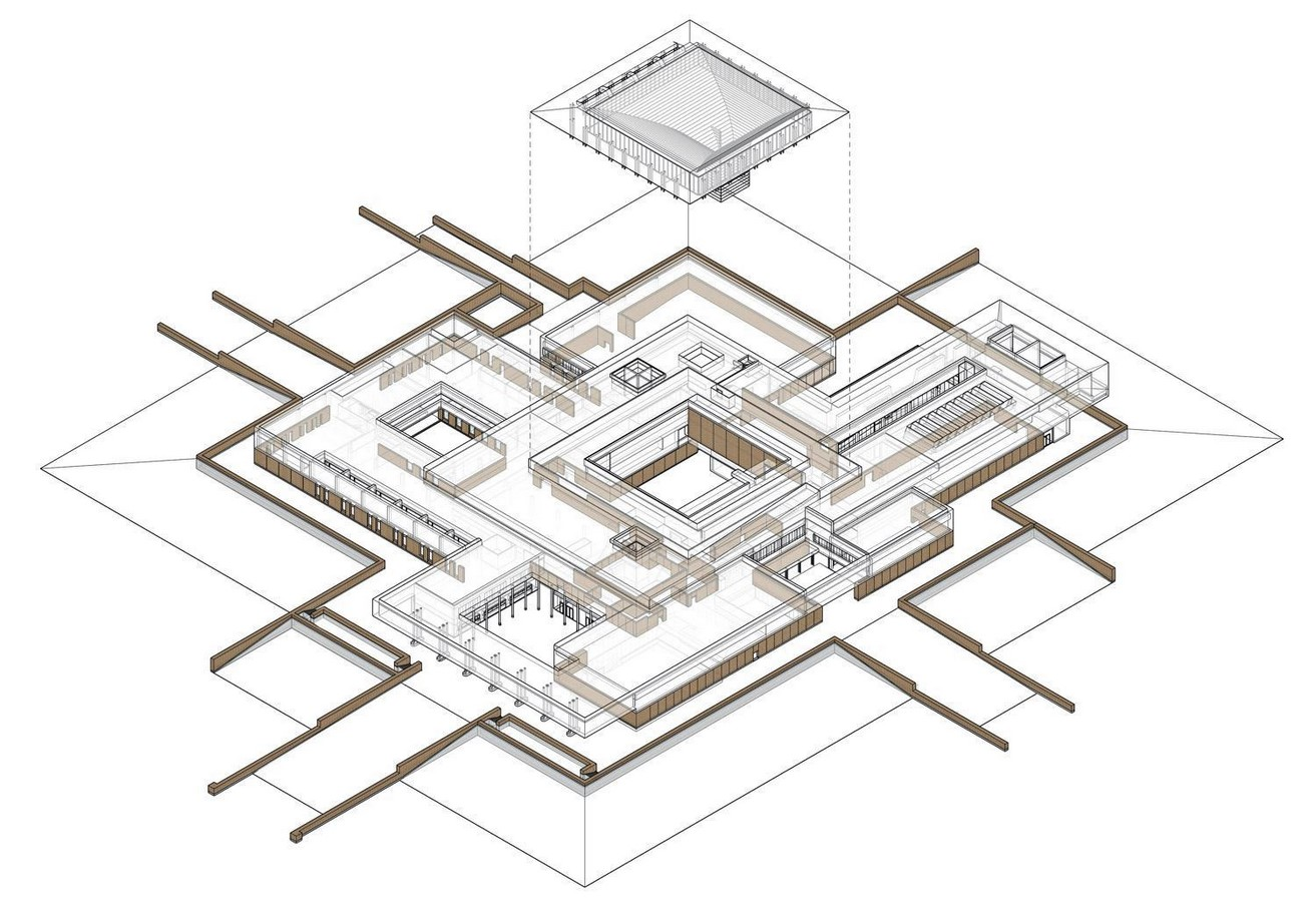Erlitou Site Museum of the Xia Capital by TJAD and Rurban Studio: Preserving the existing - Sheet2