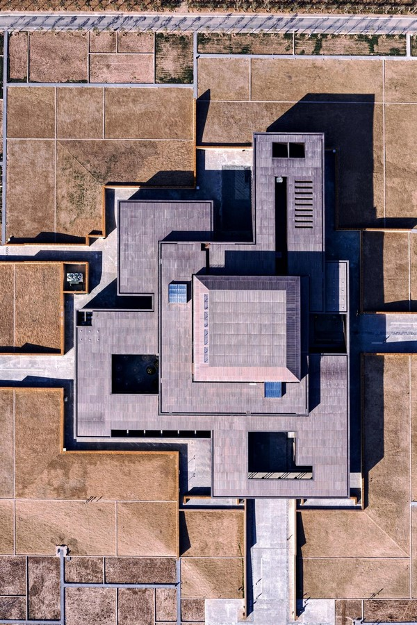 Erlitou Site Museum of the Xia Capital by TJAD and Rurban Studio: Preserving the existing - Sheet3