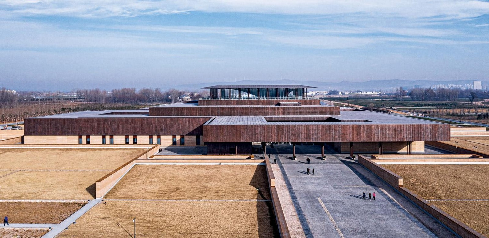 Erlitou Site Museum of the Xia Capital by TJAD and Rurban Studio: Preserving the existing - Sheet4