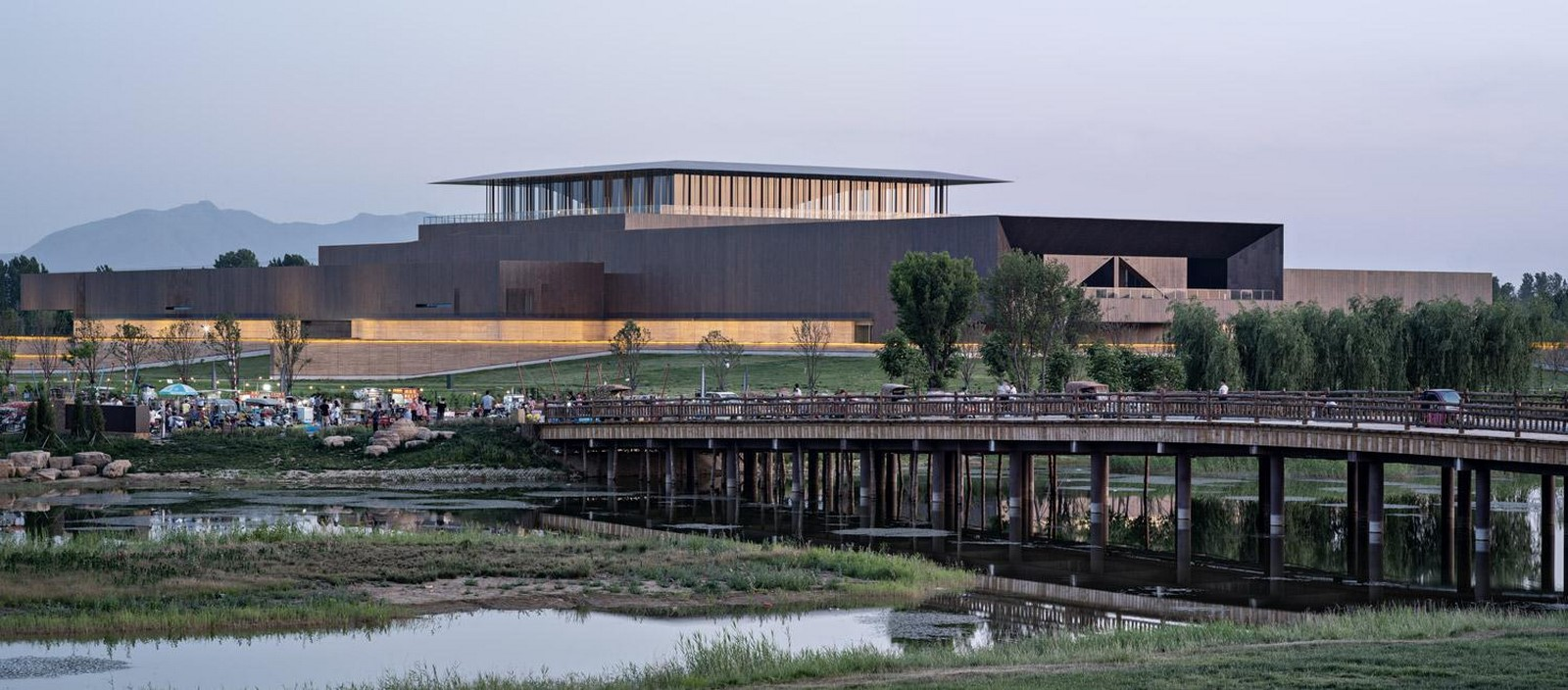 Erlitou Site Museum of the Xia Capital by TJAD and Rurban Studio: Preserving the existing - Sheet5