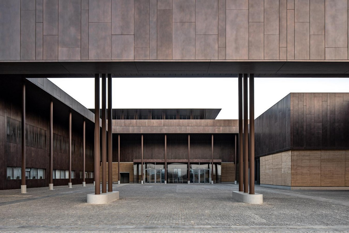 Erlitou Site Museum of the Xia Capital by TJAD and Rurban Studio: Preserving the existing - Sheet6