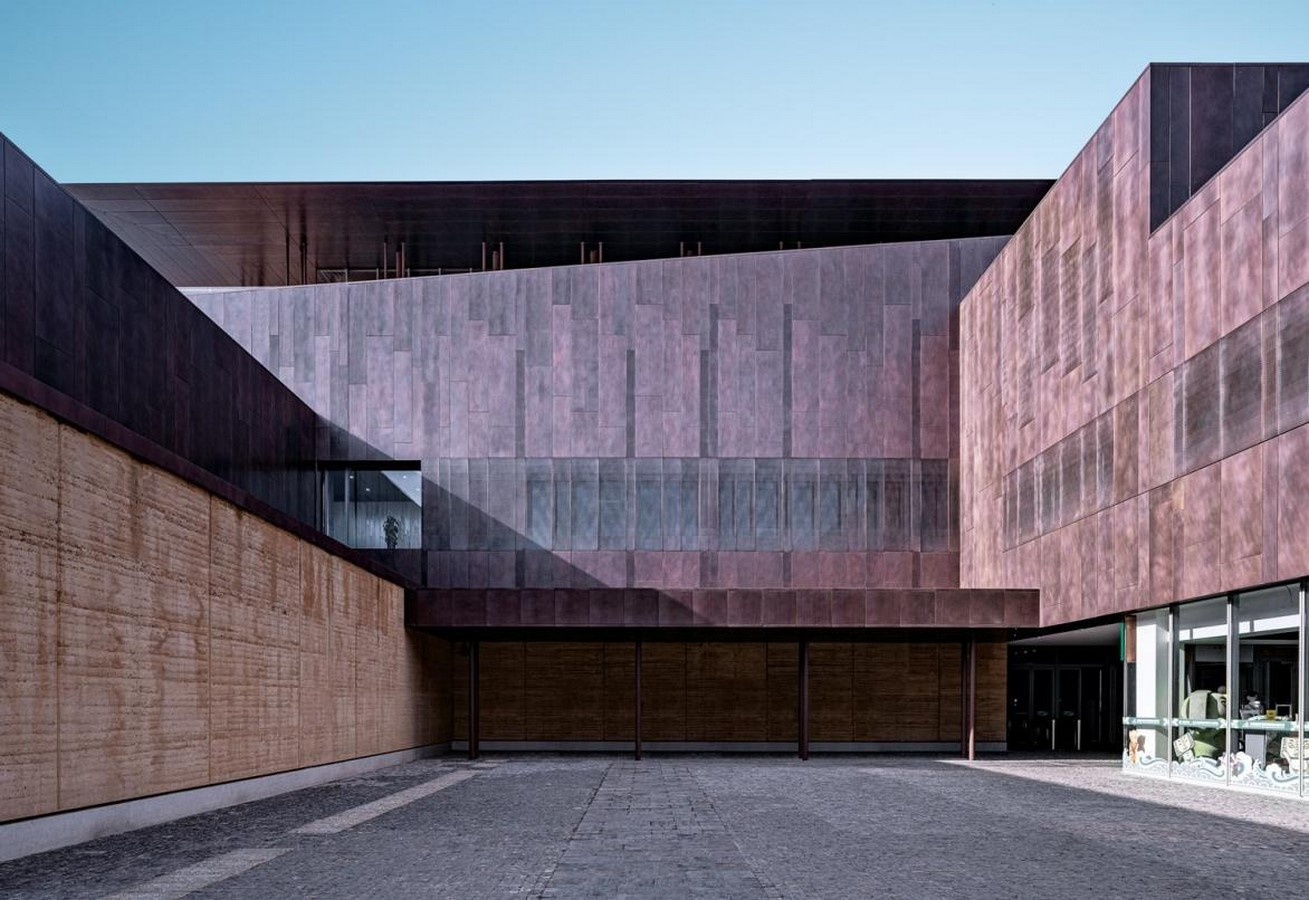 Erlitou Site Museum of the Xia Capital by TJAD and Rurban Studio: Preserving the existing - Sheet7