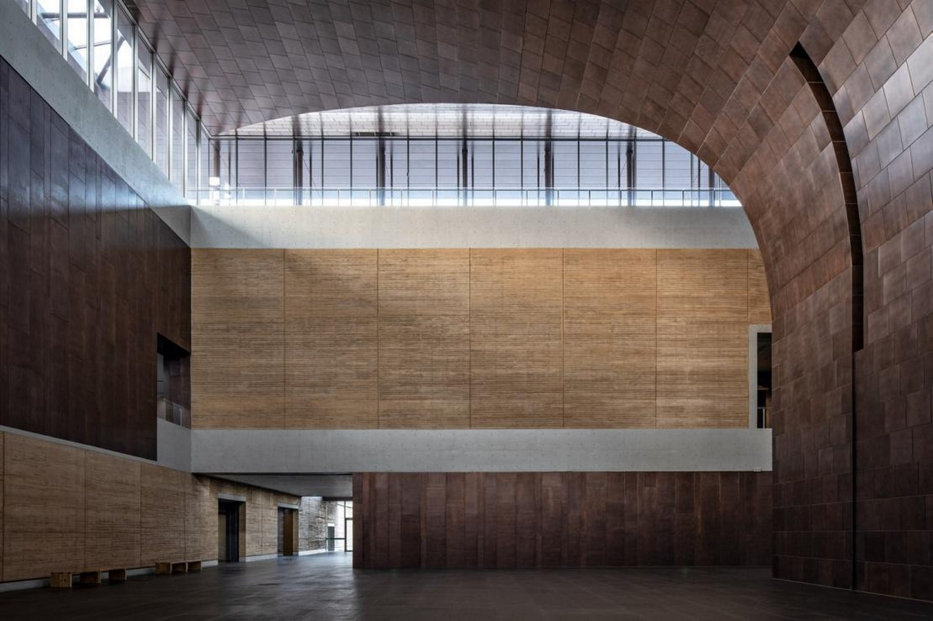 Erlitou Site Museum of the Xia Capital by TJAD and Rurban Studio: Preserving the existing - Sheet9