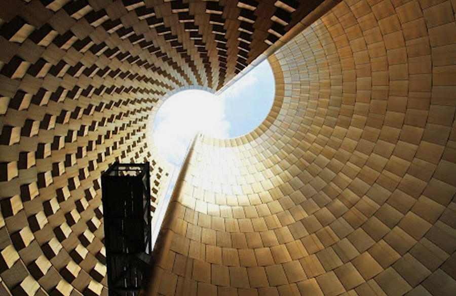 The Vulcania Museum by Hans Hollein European Park of Volcanism