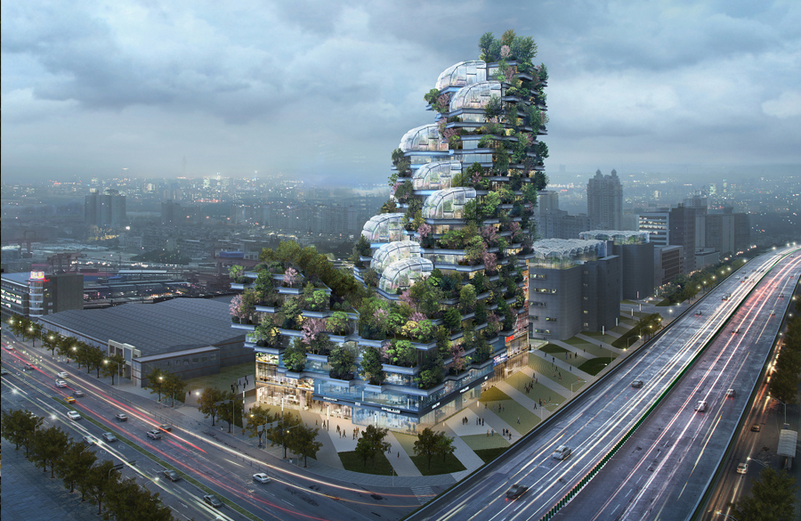 Architecture, Agriculture, and Aesthetics combined in Newly Unveiled Project by Stefano Boeri Architetti