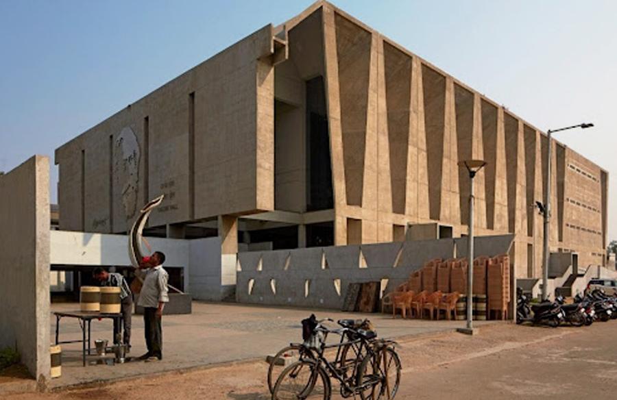 Tagore Memorial Auditorium by B.V Doshi Box of Miracles