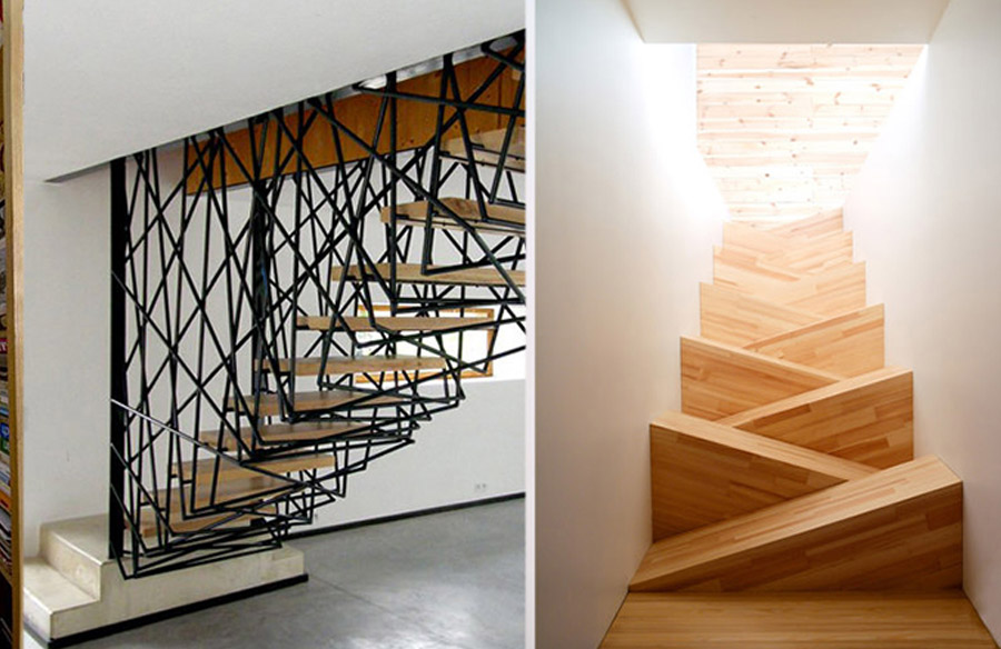 The stepping Details How staircase enhance a space.