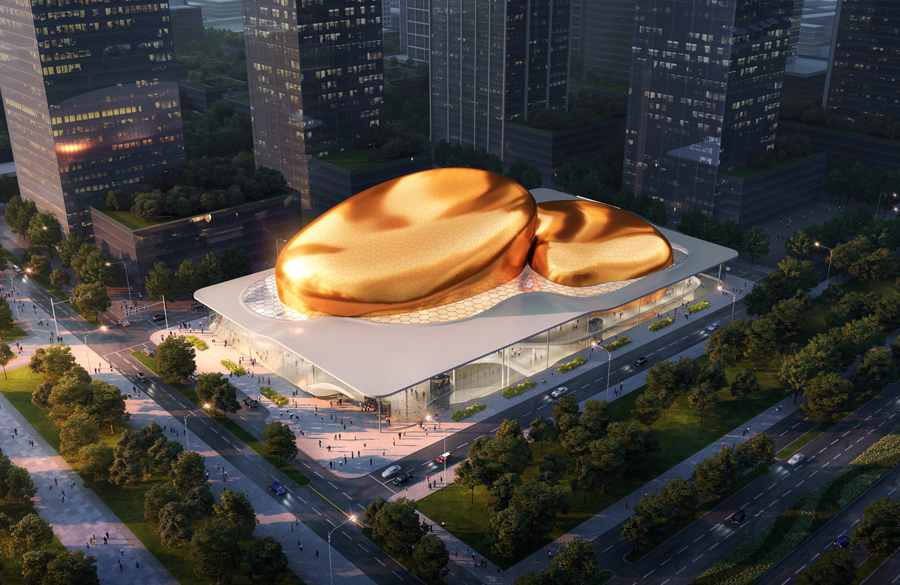 The International Performance Center in Shenzhen to be designed by Ennead Architects