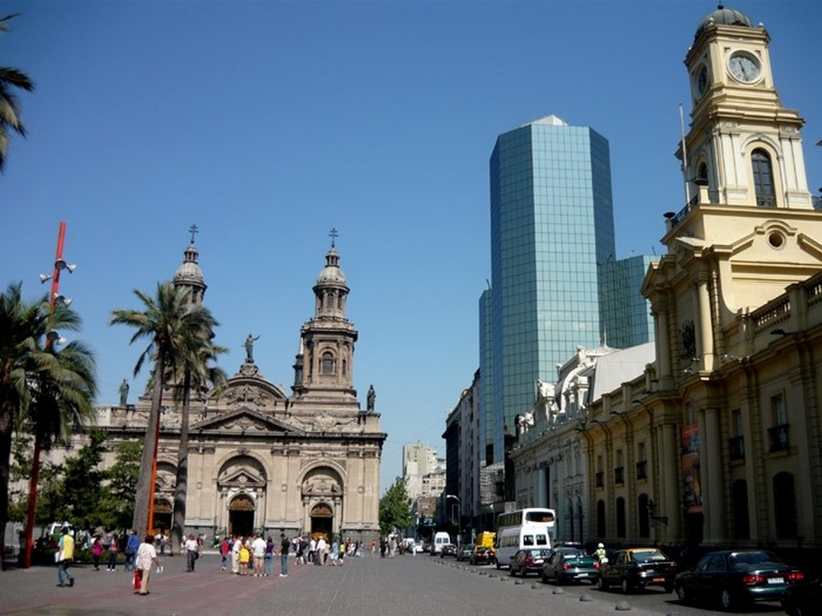 Architecture of Cities: Santiago- City's Old Colonial Core - Sheet4